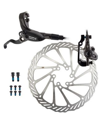 BRAKE DISC OR8 VISE HYD MTB FT w/LVR 180 BK