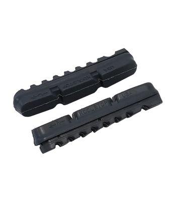 BRAKE SHOES K/S DURA 2 PAD E-BIKE 55mmGY PADS ONLY PR