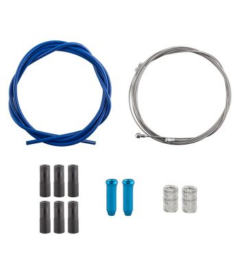 CABLE BRAKE CLK KIT F+R SS SPT RD/MT BLU