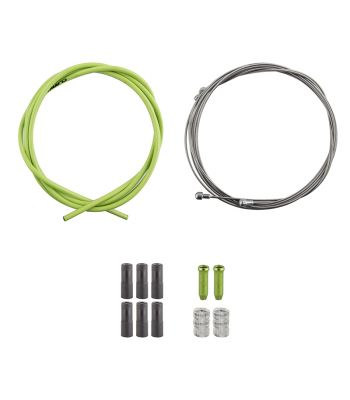 CABLE BRAKE CLK KIT F+R SS SPT RD/MT GRN