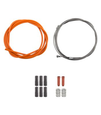 CABLE BRAKE CLK KIT F+R SS SPT RD/MT ORG