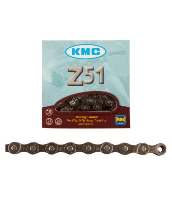 CHAIN KMC Z51 INDEX 6/7/8s BRN 116L