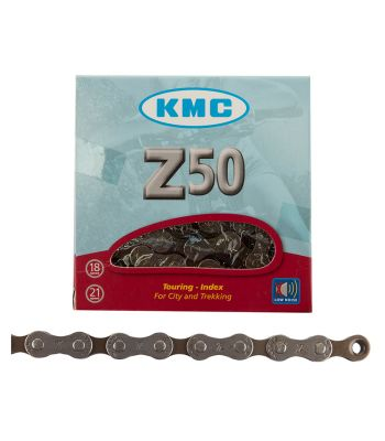 CHAIN KMC Z50 INDEX 6/7s SL 116L