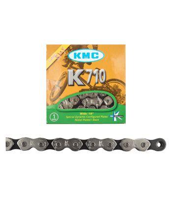 CHAIN KMC 1/2x1/8 K710 1s SL/BK 112L