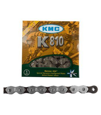 CHAIN KMC 1/2x3/32 K810 KOOLCHAIN 1s SL/BK 112L