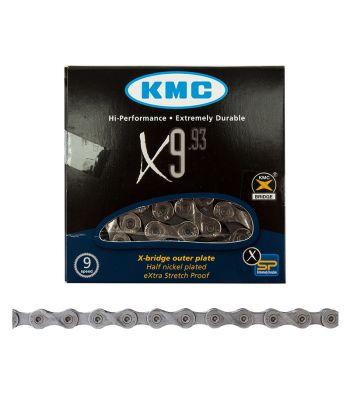CHAIN KMC X9 9s NP/DK-SL 116L