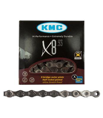 CHAIN KMC X8.93 6/7/8s SL/DK-SL 116L