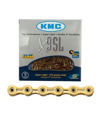 CHAIN KMC X9SL 9s Ti-N GD 116L