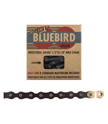 CHAIN ODY 1/2x1/8 BLUEBIRD 1s BK w/1/2LINK