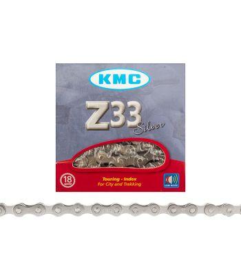 CHAIN KMC Z33NP 5/6s SILVER116L