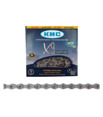 CHAIN KMC X9 9s EPT SL 116L