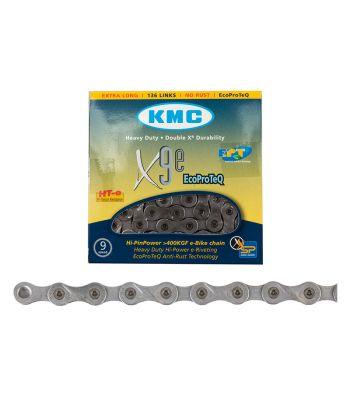 CHAIN KMC X9e 9s EPT 136L f/EBIKE