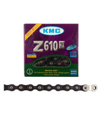 CHAIN KMC 1/2x3/32 Z610HX +OL 1s BK 112L