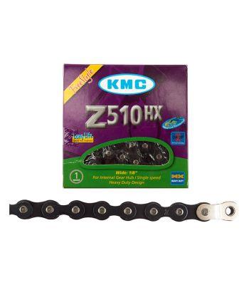 CHAIN KMC 1/2x1/8 Z510HX +OL 1s BK 112L