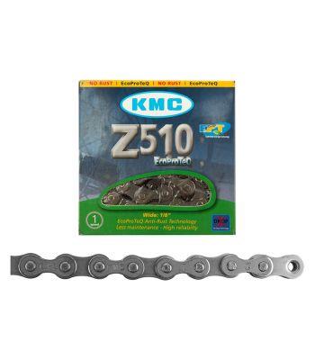 CHAIN KMC 1/2x1/8 Z510 1s EPT SL 112L