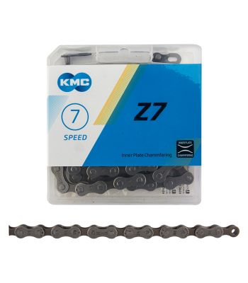 CHAIN KMC Z7 INDEX 6/7/8s GY/BR 116L