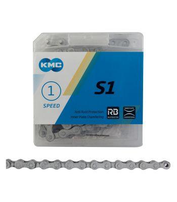 CHAIN KMC 1/2x1/8 S1 1s RUST BUSTER SL/SL 112L