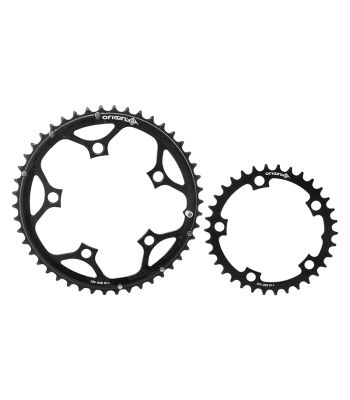 CHAINRING OR8 THRUSTER 110mm 34/46T 10/11s 5B SET BK