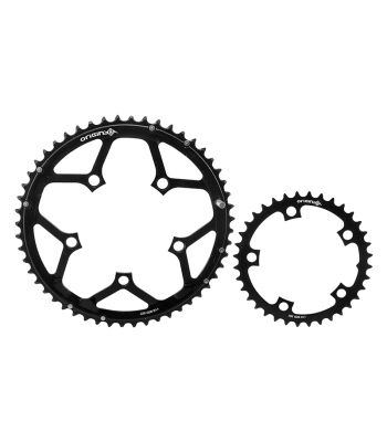 CHAINRING OR8 THRUSTER 110mm 36/52T 10/11s 5B SET BK