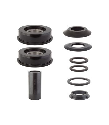 BB SET BK-OPS AM to 19mm w/BEARINGS BK