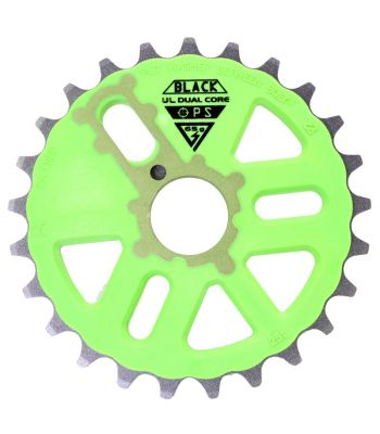 CHAINRING BK-OPS 25T MICRO DRIVE D/C GN/GY