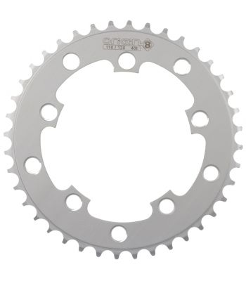 CHAINRING 10H OR8 40T 110/130 SIL 3/32