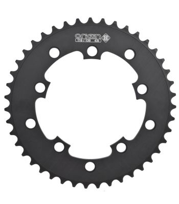 CHAINRING 10H OR8 43T 110/130 BLK 3/32