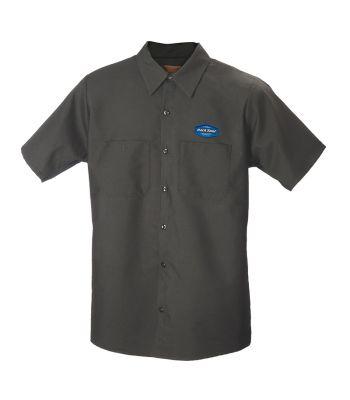 CLOTHING SHIRT MECH PARK CHARCOAL GRY LRG