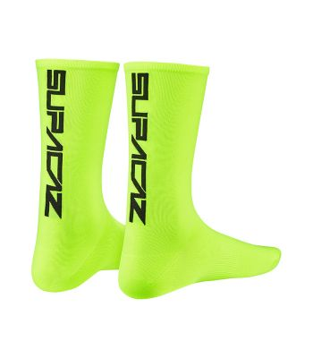 CLOTHING SOCKS SUPACAZ STRAIGHT UP LG/XL N-YL/BK