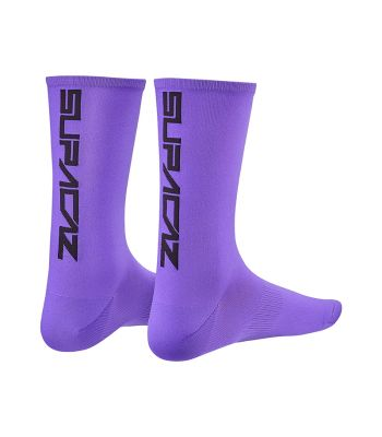 CLOTHING SOCKS SUPACAZ STRAIGHT UP LG/XL N-PU/BK