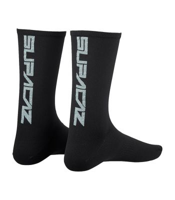 CLOTHING SOCKS SUPACAZ STRAIGHT UP LG/XL PLATINUM-BLING