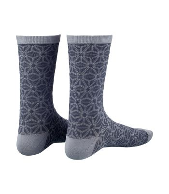 CLOTHING SOCKS SUPACAZ ASANOHA LG/XL GUNMETAL