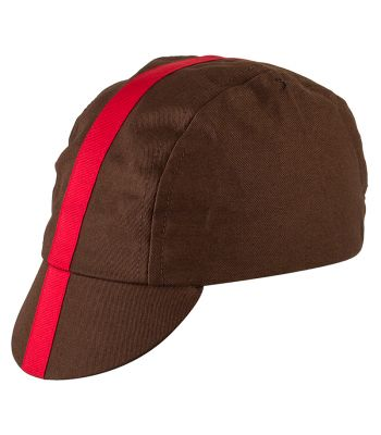 CLOTHING HAT PACE CLASSIC CHOCO/RED