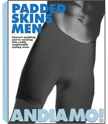 CLOTHING SHORTS ADMO PAD SKINS MEN BK MD