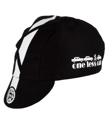 CLOTHING HAT PACE ONE LESS CAR BLK
