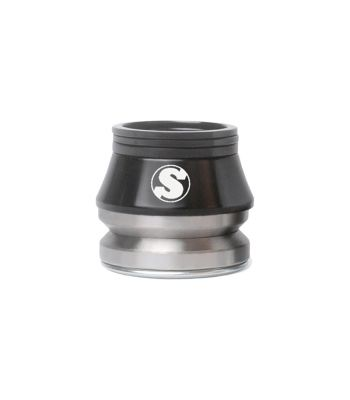 HEADSET SUNDAY INT HIGH 15mm MX 1-1/8 CMPY45d BK w/CONICAL SPACER