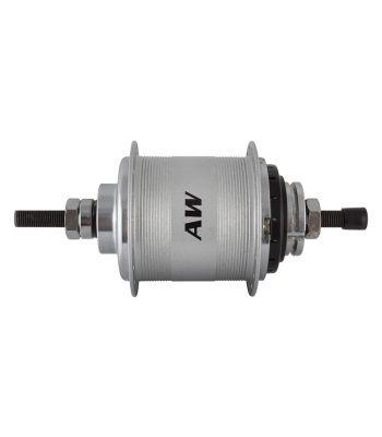 HUB RR S/A 3sp AW 36 w/TRIM KIT/TWIST-SHIFTER SLS3C/CABLE 18T 163/117mm