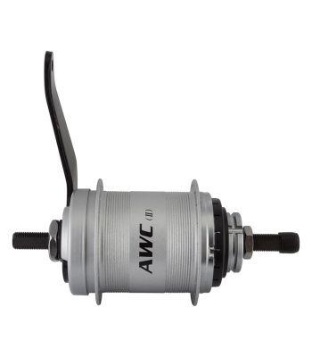 HUB RR S/A 3sp AWC CB 36 w/TRIM KIT/TRIGGER-SHIFTER SLS3/CABLE 18T 163/116mm