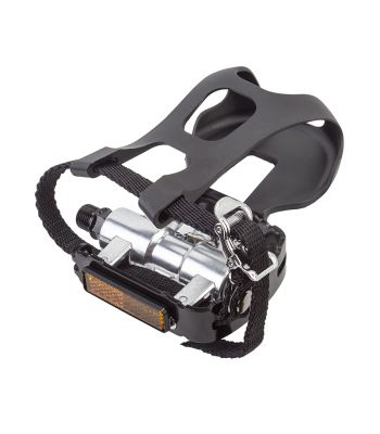 PEDALS SUNLT TRAINING 1S-SPD ALY 9/16w/CLIPS&STRAPS