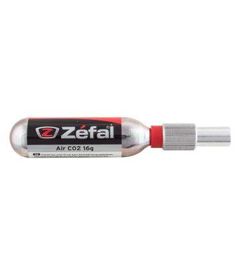 PUMP ZEFAL Co2 AIR ADAPTER THREAD NO REG w/16g CART