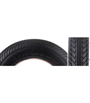 TIRES SUNLT SCOOTER 10x2 BK/BK K912 NOT FOR MAG WHEELS