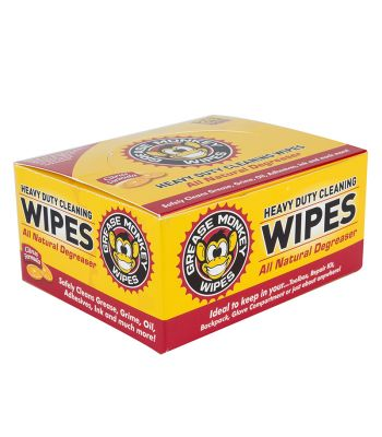 CLEANING TOWEL GREASE MONKEY WIPES BXof24