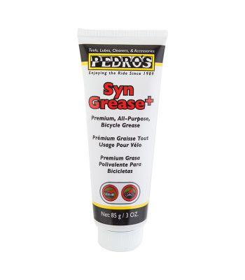 LUBE PEDROS SYN GREASE PLUS 3oz TUBE 6/cs