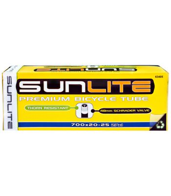 TUBES SUNLT THORN RES 700x20-25 SV48 FFW24mm