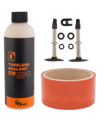 TUBELESS KIT ORANGE SEAL 45mm