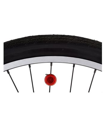 LIGHT NITEIZE SPOKE MINI LED RED PKof2