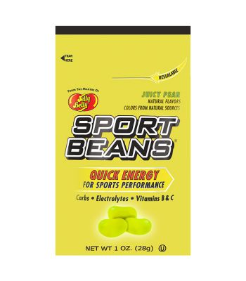 FOOD SPORT BEANS ENERGY BEANS JUICY PEAR BXof24