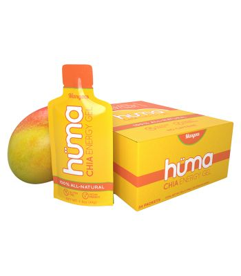 FOOD HUMA CHIA ENERGY GEL MANGO BXof24