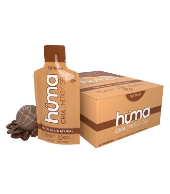 FOOD HUMA CHIA ENERGY GEL CAFE MOCHA BXof24