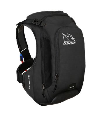 BAG USWE HYDRATION AIRBORNE-15 w/3L SHAPESHIFT BLADDER BK